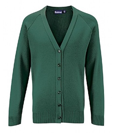 HF Knitted Cardigan w Name (Adult Sizes)