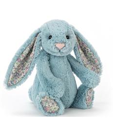Aqua Blossom Bashful Bunny