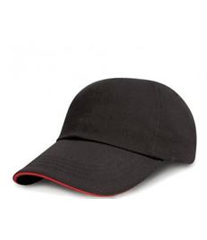 Kids Baseball Cap - Red&White Logo