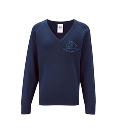 Chipping Hill V Neck Knitted Jumper