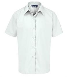 Girls Short Sleeve Shirts - 2 Pack