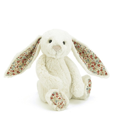 Cream Blossom Bashful Bunny
