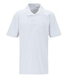 Plain White Polo (No Logo, XS+)