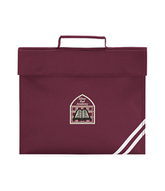 Silver End Classic Bookbag with Name