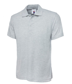 Silver End Polo Shirt (Grey)