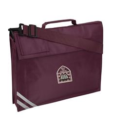 Silver End Premium Bookbag with Name