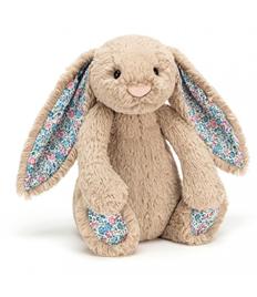 Beige Blossom Bashful Bunny