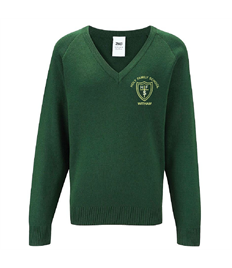 HF V Neck Jumper with Name (34+)